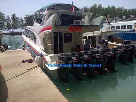 Paket pulau tidung kapal cepat speedboat marina Ancol