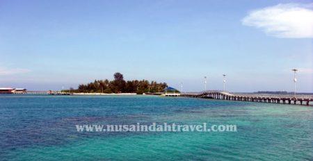 foto sekitar jembatan cinta pulau tidung