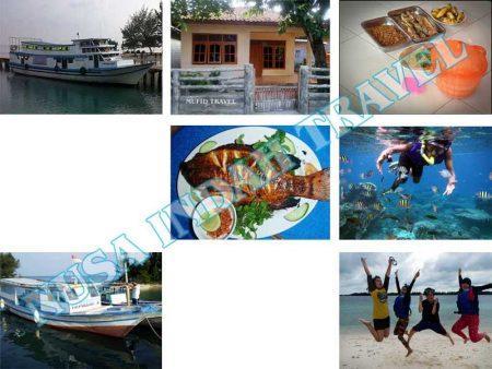 Paket Pulau Harapan Kapal Feri Tradisional Muara Angke