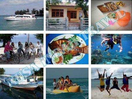 Paket Pulau Pari Kapal Cepat Speedboat Marina Ancol