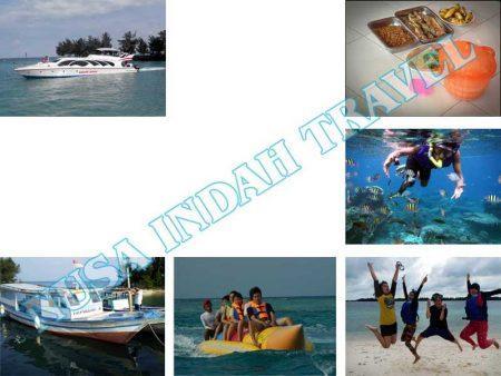 Paket Pulau Harapan 1 Hari One Day Tour Kapal Speedboat