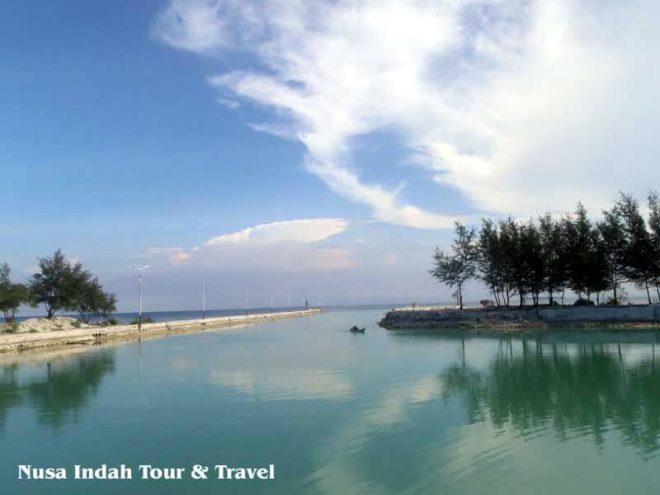 Dermaga Wisata Pulau Pari Kepulauan Seribu