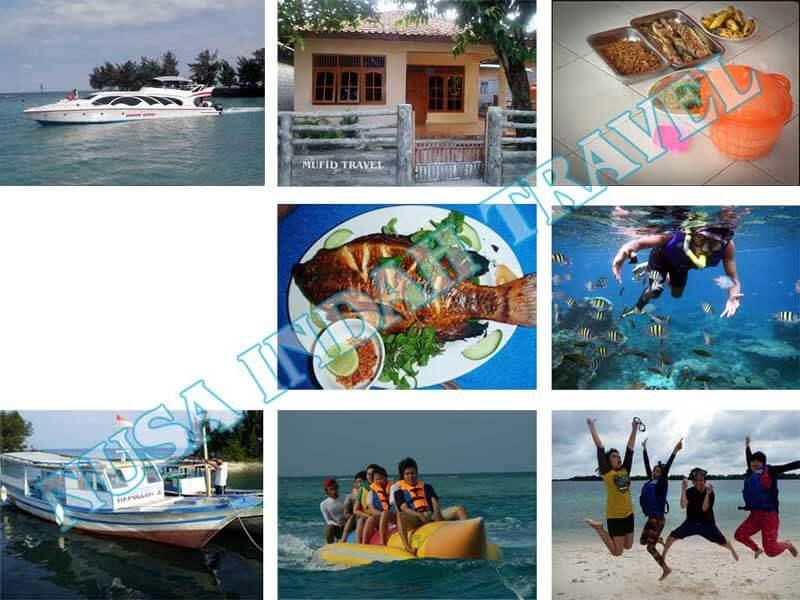 Paket Pulau Harapan Kapal Cepat Speedboat Marina Ancol