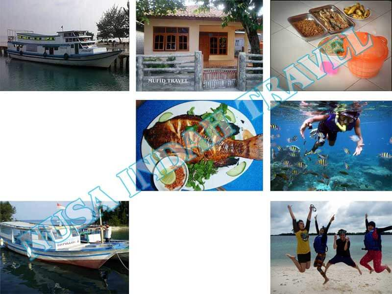 Paket Pulau Harapan Kapal Feri Tradisional Murah