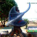 Maskot Ikan Pari Kepulauan Seribu