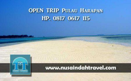 Open Trip Pulau Harapan Kepulauan Seribu Paket Gabungan