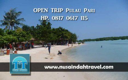 Open Trip Pulau Pari Gabungan Kepulauan Seribu