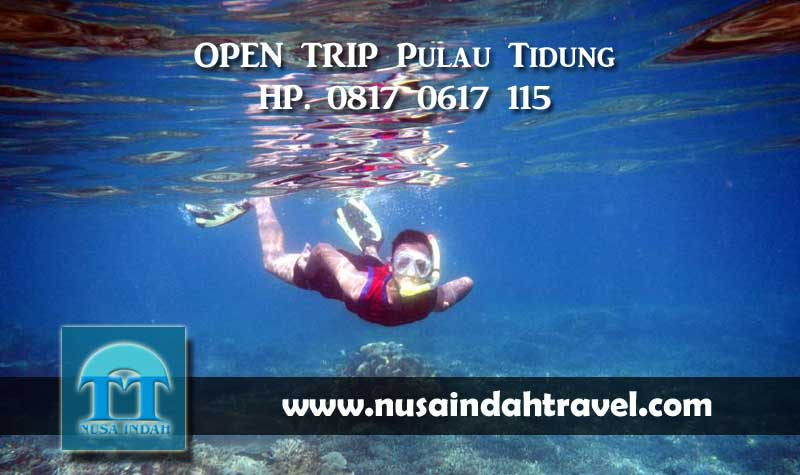 OPEN TRIP Pulau Tidung Kepulauan Seribu Paket Hemat Gabungan