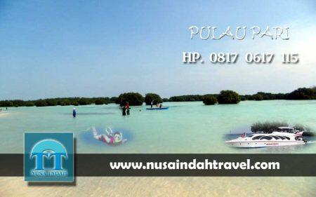Paket Wisata Pulau Pari 3 Hari 2 Malam 3H2M